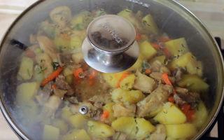 Говядина с грибами шампиньонами в духовке, мультиварке, сковороде: фото, рецепты вкусных блюд
