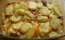 Как приготовить картошку по-французски с грибами: рецепты картофеля, запеченного в духовке и мультиварке