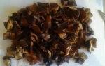 Как готовить сушеные грибы подосиновиков: рецепты вкусных и полезных блюд