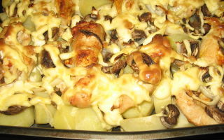 Как приготовить опята в духовке: рецепты приготовления грибов с картошкой и другими ингредиентами
