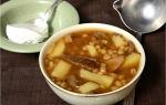 Как приготовить шампиньоны с перловкой: фото и рецепты грибных супов и вторых блюд