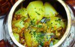 Как приготовить лисички в горшочках с картошкой, мясом, курицей: рецепты приготовления грибных блюд