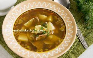 Грибной суп из сушеных опят: фото, видео-рецепты, как сварить первые блюда из грибов