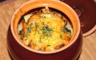 Мясо с грибами в горшочках: пошаговый рецепт с фото, как приготовить в духовке вкусно