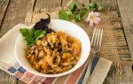 Тушеная капуста с мясом и грибами: фото, рецепты блюд