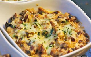 Грибной жульен с курицей и сливками: рецепты домашних жульенов с курицей и грибами