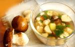Как готовить белые свежие грибы: видео и рецепты супов с картошкой и жарки