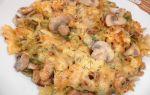 Макароны с шампиньонами: фото, рецепты, как приготовить грибы в духовке, мультиварке или на сковороде