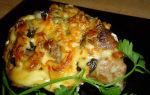 Мясо с грибами вешенками: фото, рецепты приготовления блюд на сковороде и в духовке