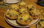 Как приготовить жульен с грибами в тарталетках