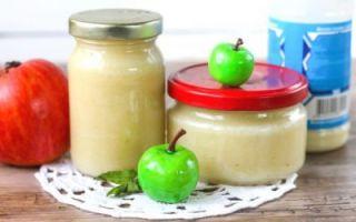 Яблочное пюре через соковыжималку на зиму — рецепт в домашних условиях с фото