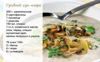 Как приготовить грибной суп-пюре с шампиньонами: фото, пошаговые рецепты приготовления первых блюд