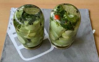 Хрустящие маринованные кабачки без стерилизации на зиму — рецепт с пошаговыми фото