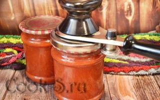 Томатная паста через соковыжималку на зиму — рецепт с пошаговыми фото