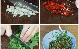 Зелёные помидоры по-армянски без стерилизации на зиму — простой рецепт от автора пошагово