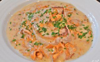 Грибной соус из лисичек: фото и рецепты, как приготовить подливу из грибов