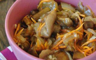 Маринованные грибы маслята по-корейски на зиму: рецепты маринования маслят с пряностями