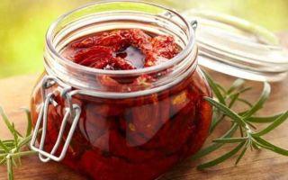 Вяленые помидоры без холодильника на зиму — рецепт с пошаговыми фото