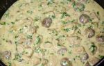Курица с грибами в сметанном соусе: фото и рецепты приготовления вкусных блюд