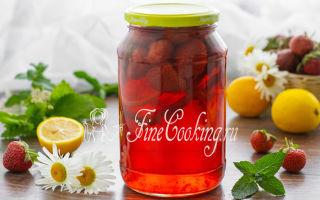 Черничный компот с лимоном на зиму — рецепт на 3-х литровую банку с пошаговыми фото