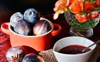 Варенье из желтой сливы без косточек пятиминутка на зиму — 5 рецептов с фото пошагово