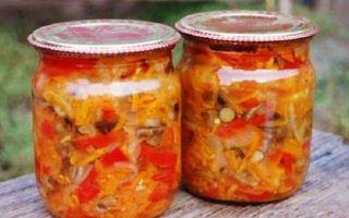 Солянка с капустой на зиму — простой пошаговый рецепт