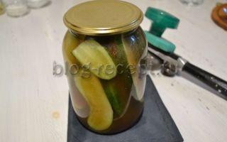 Огурцы с кетчупом чили на зиму — рецепт приготовления с пошаговыми фото