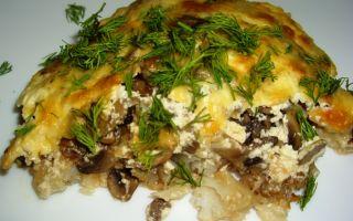 Рыба с грибами: рецепты и фото приготовления запеченной и тушеной рыбы с грибами
