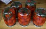 Маринованные помидоры с лимонной кислотой на 1 литр на зиму — 5 рецептов с фото пошагово