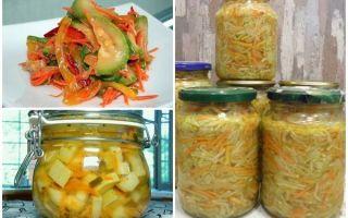 Салат из кабачков моркови и лука на зиму — пошаговый рецепт с фото