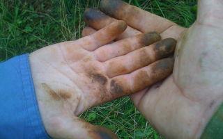 Как отмыть руки от грибов маслят в домашних условиях: советы с видео