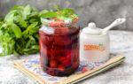 Компот из черной смородины и вишни на 3-литровую банку на зиму — простой рецепт от автора