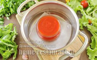 Кетчуп из помидоров с перцем без уксуса на зиму — рецепт с пошаговыми фото