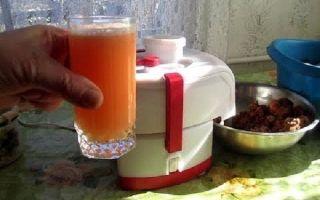 Морковный сок с мякотью на зиму — простой пошаговый рецепт