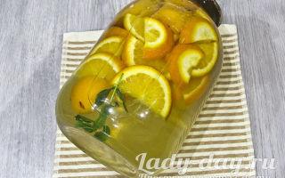 Фанта из абрикосов и апельсинов на зиму — рецепт с пошаговыми фото
