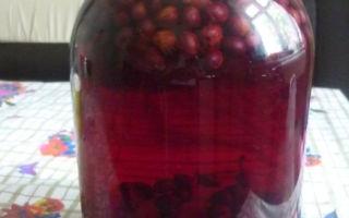 Компот из черного винограда с апельсином на зиму — простой пошаговый рецепт