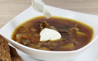 Супы из свежих, сушеных и замороженных белых грибов в мультиварке: рецепты грибных первых блюд