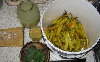Маринованный перец по-армянски на зиму — простой пошаговый рецепт