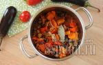 Лечо из баклажанов без стерилизации на зиму — рецепт приготовления с пошаговыми фото