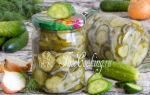 Салат нежинский из огурцов на зиму — 5 рецептов с фото пошагово