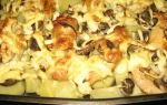 Лисички в духовке: фото и рецепты блюд из грибов, запеченных в духовом шкафу