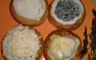 Жульены в булочках: пошаговые рецепты с фото и видео, как приготовить домашние жульены