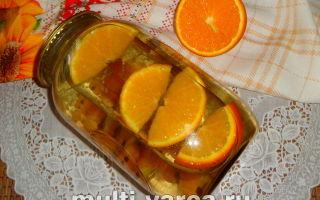Компот из крыжовника с апельсином на зиму — рецепт с пошаговыми фото