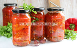 Обалденные помидоры по-корейски на зиму — рецепт с пошаговыми фото
