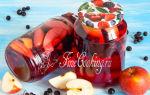 Компот из черники с лимонной кислотой на зиму — рецепт на 3-х литровую банку с пошаговыми фото