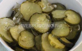 Салат из огурцов на зиму «зимний король» — пошаговый рецепт с фото