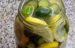 Огурцы на зиму с лимоном — очень вкусный пошаговый рецепт