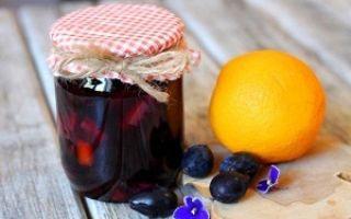 Варенье из слив на без стерилизации зиму — пошаговый рецепт с фото