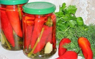 Перец в масле и уксусе на зиму — простой рецепт без стерилизации с пошаговыми фото