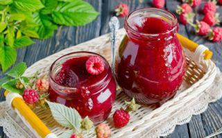 Джем из малины на зиму — рецепт приготовления с пошаговыми фото